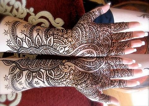 Arabic Mehendi Designs for girls