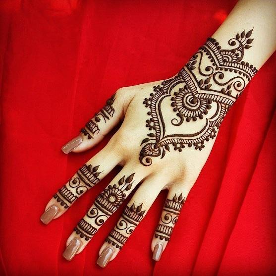 Bracelet Style Arabic Mehndi Design