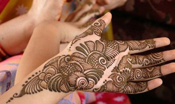 3-Part Arabic Mehndi Design