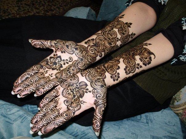 Gulf-Arabic Mehndi Design