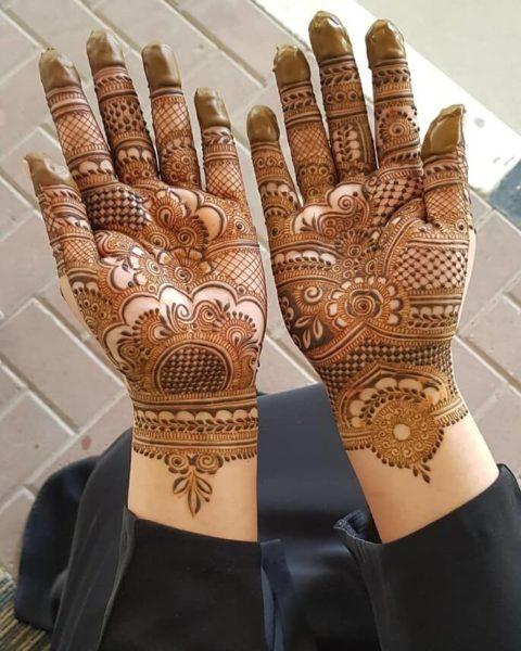 Classic Half Hand Arabic Designs