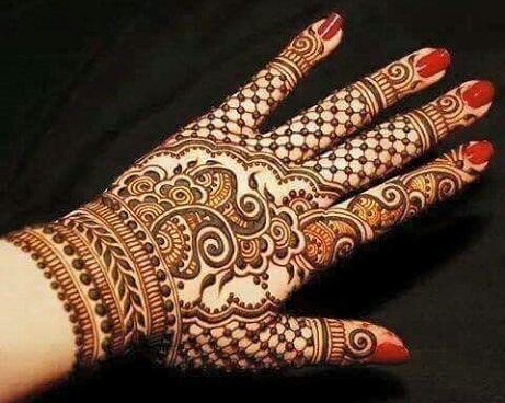 Arabic Mehndi Designs 40