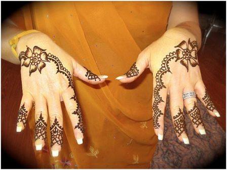 Mehndi designs for both hands