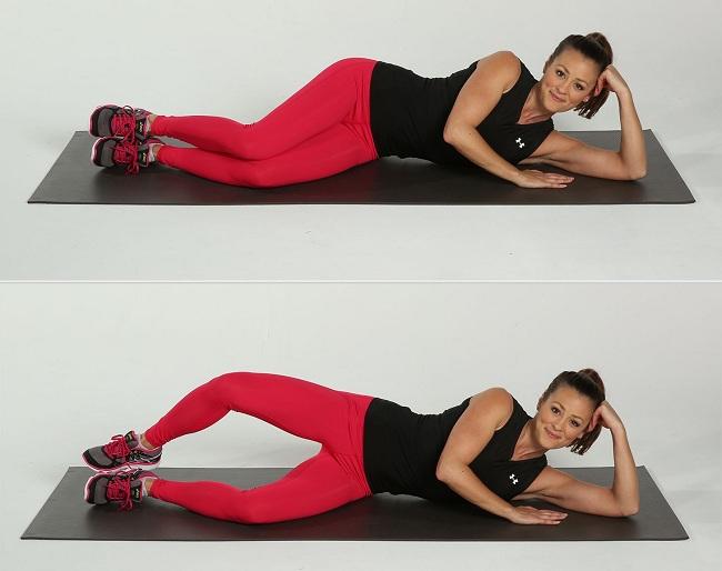Clam Series - saddlebag exercises