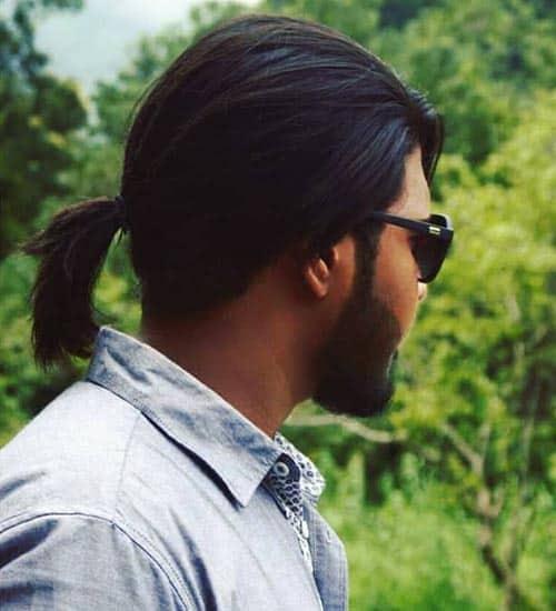 Thin Hair Pony Style