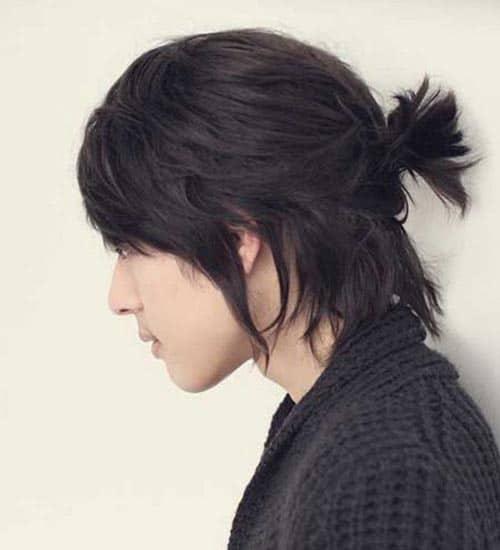 Asian Men Ponytail