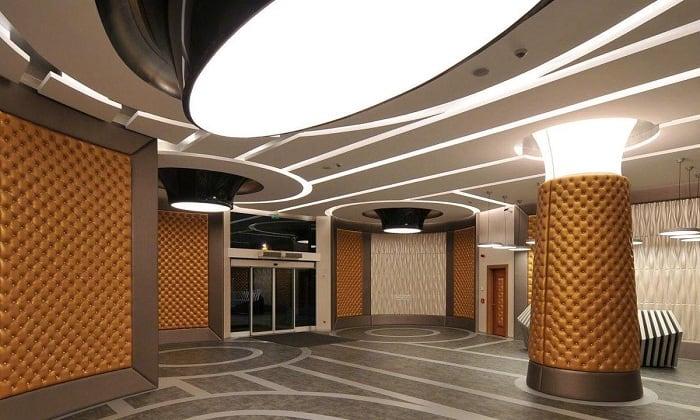 PVC Ceiling Design for Lobby