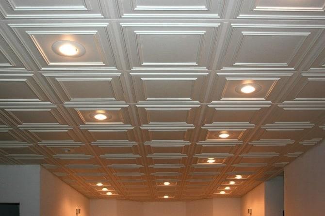 PVC Ceiling Tiles Designs