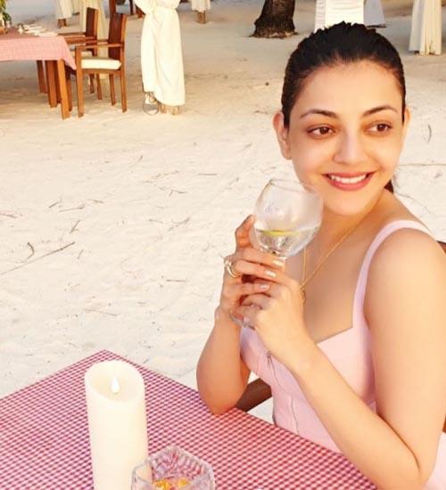 Kajal Agarwal Without Makeup 1