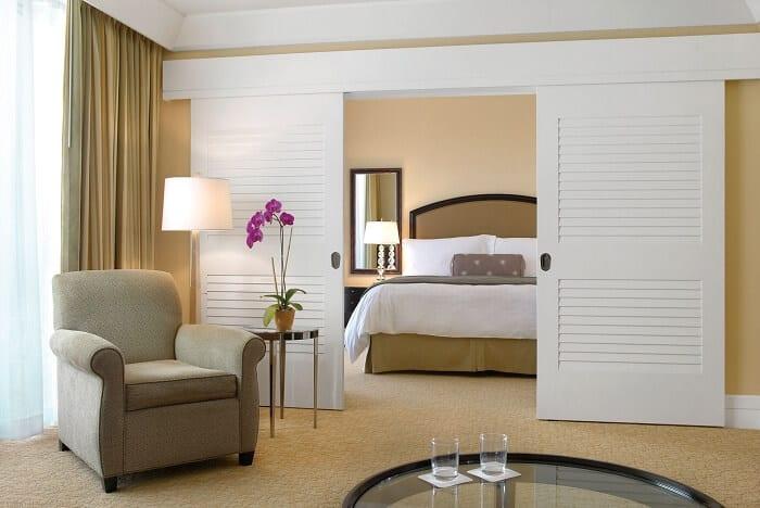 Louvred Bedroom Doors