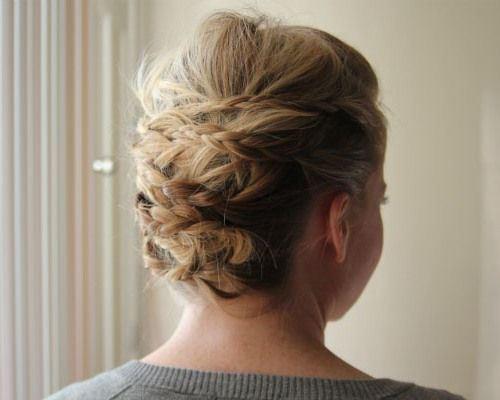 Updo Hairstyles for Medium Hair 5