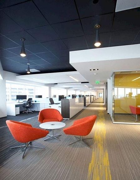 Corporate Office Ceiling Design
