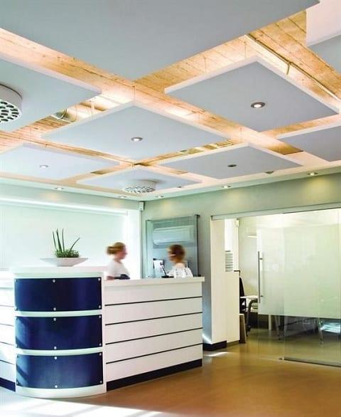 False Ceiling Design for Small Office