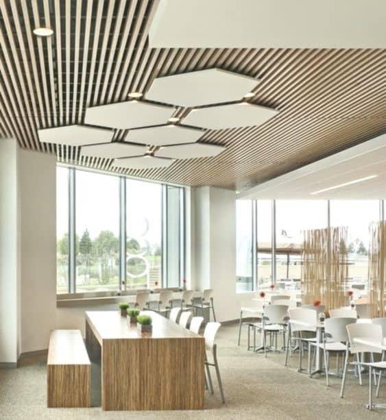 Pop Design for Office Ceiling