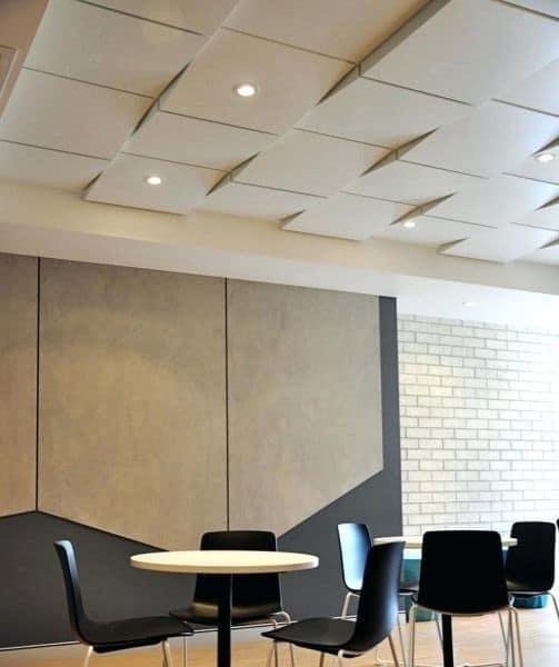 Office Gypsum Ceiling Design