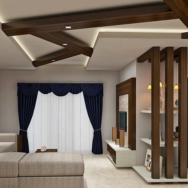 Wooden Pop Ceiling Designs