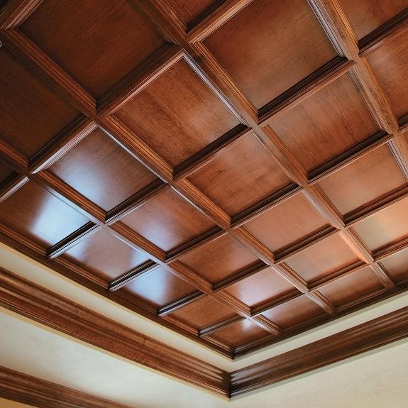 Teak Wood Ceiling Designs