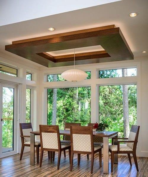 Readymade Wooden False Ceiling