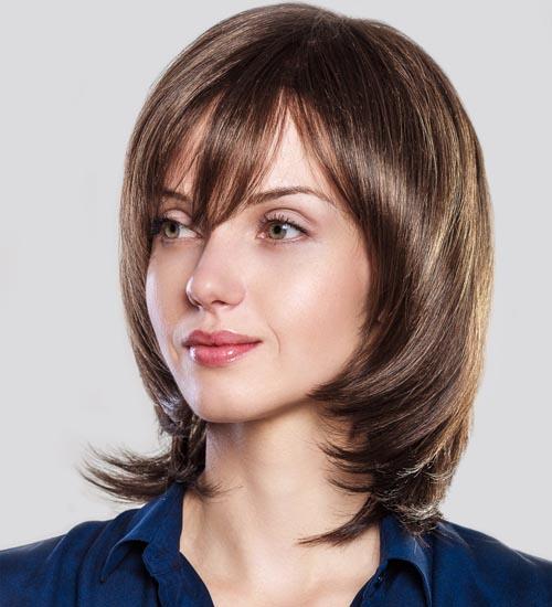 Short Hairstyles With Bang 5