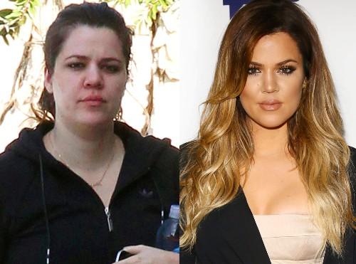 12 Recent Pics of Khloe Kardashian Without Makeup