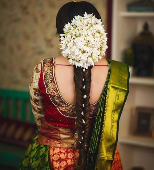 Gajra Hairstyles 11