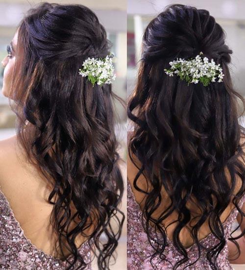 Gajra Hairstyles 12