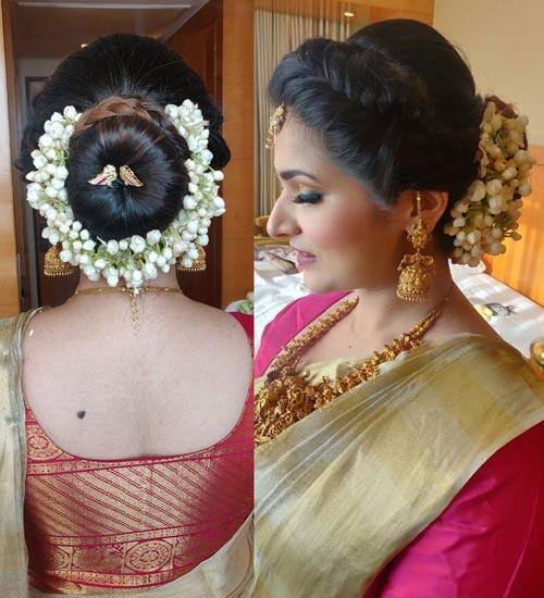 Gajra Hairstyles 3
