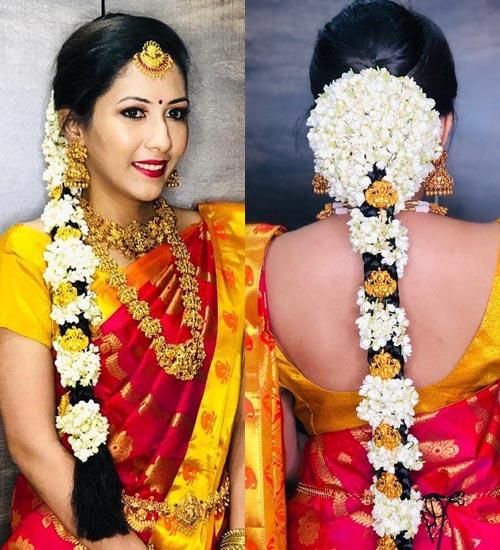 Gajra Hairstyles 5