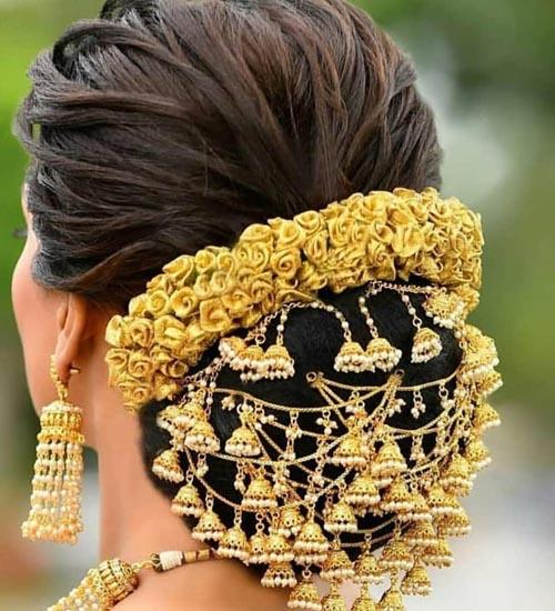 Gajra Hairstyles 6