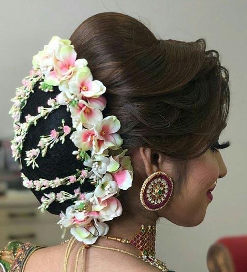 Gajra Hairstyles 7