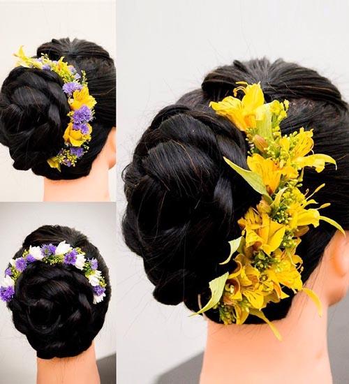Gajra Hairstyles 9