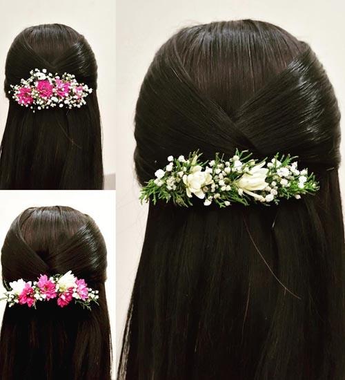 Gajra Hairstyles 1
