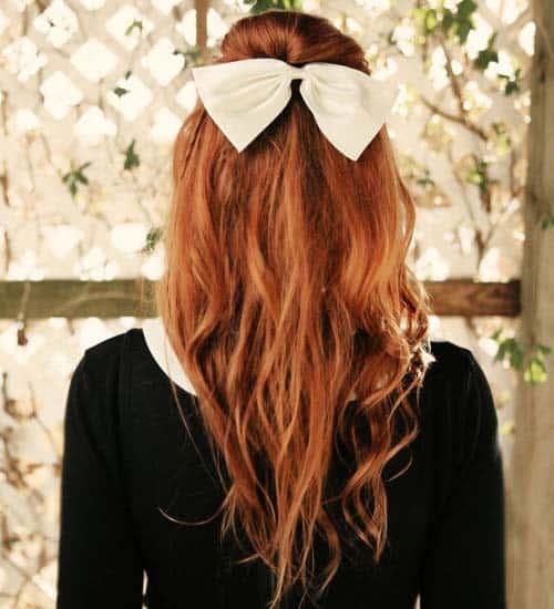 Half Pony Hairstyles 1
