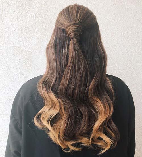Half Pony Hairstyles 7