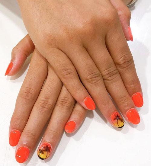 Summer Nail Art Designs Sun 1