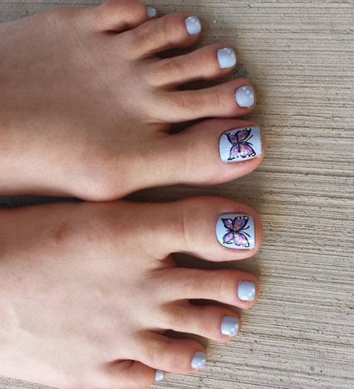 Summer Nail Art Designs Toe 1