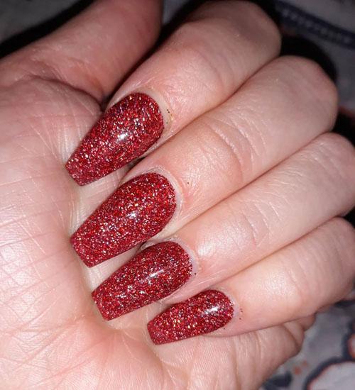 Summer Nail Art Designs 1 Glitter