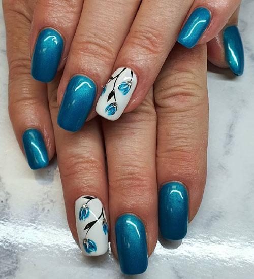 Summer Nail Art Designs Flower