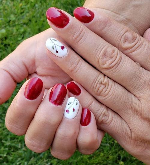 Summer Nail Art Designs Flower 1
