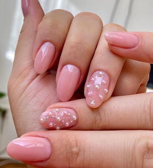 Summer Nail Art Designs Pearls