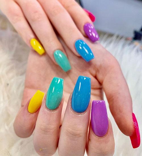 Summer Nail Art Designs Ombre
