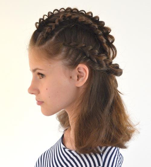 Medium Hairstyles For Girls 7