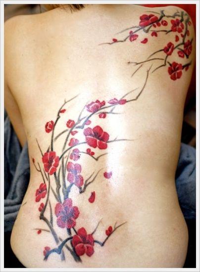 Budhist cherry blossoms