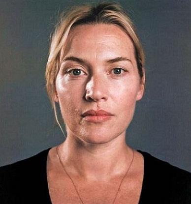 Kate Winselt without makeup1