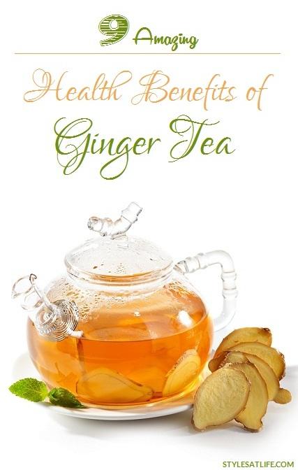 ginger tea benefits