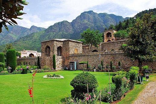 Srinagar Tourist Places to Visit-Pari Mahal
