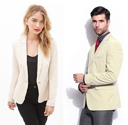 15 Attractive Designs of Cream Blazers for Men And Women