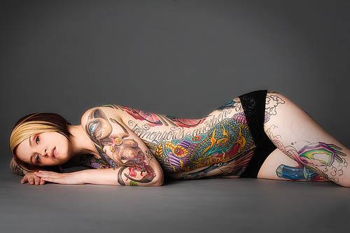 Quote Full Body Tattoo