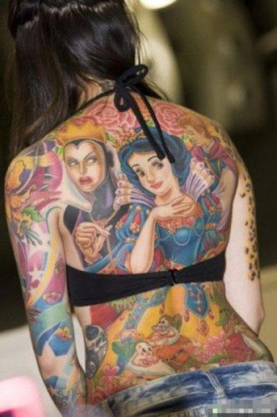 Fairy Tales Full Body Tattoos