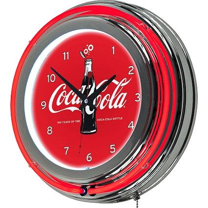 Coco Cola Neon Clock